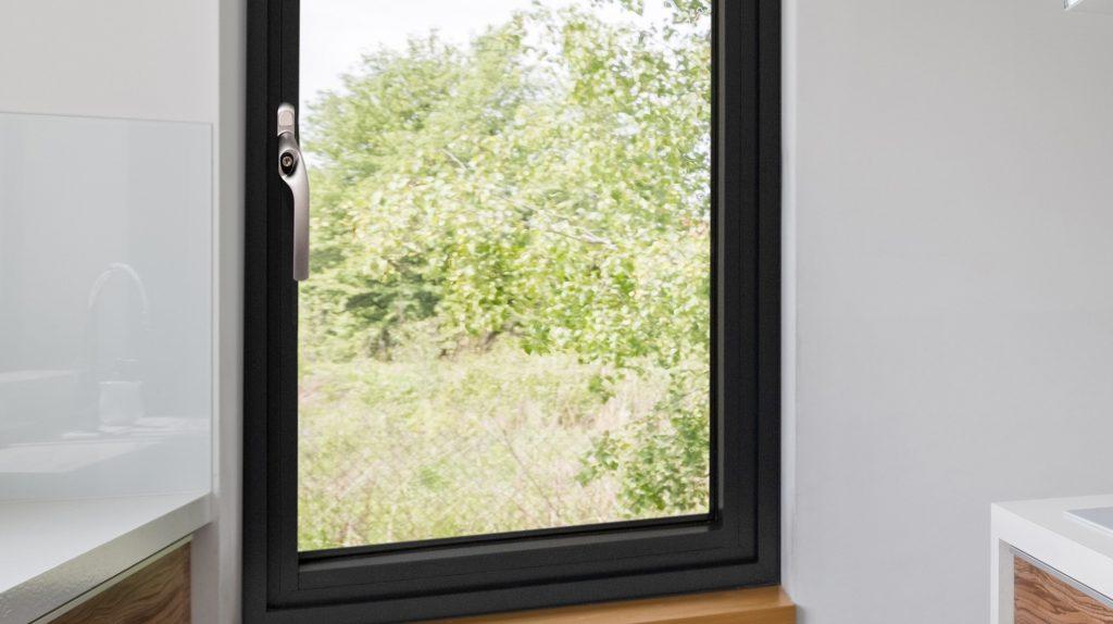 flush aluminium window by Jack Aluminium